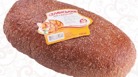 Хліб селянський з висівками