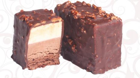 Тістечко «Брауні» шоколадно-бананове заморожене